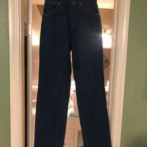Wrangler classic fit jeans!